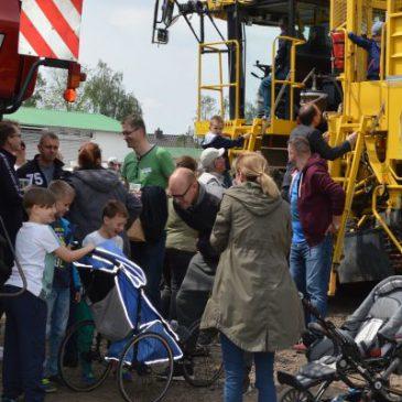 Landwirtschaft als Straßenfeger