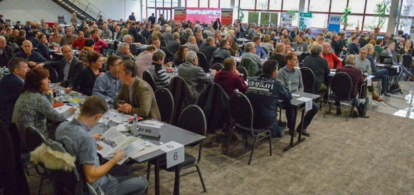 Die Delegierten im Salzlandcenter Staßfurt.