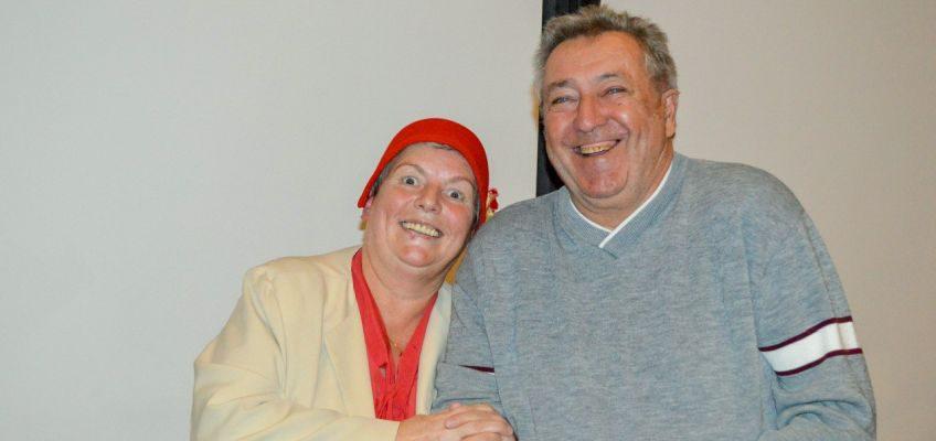 Josefine Lemke, alias Erna Schmidtke-Hübenstein mit Andreas Berger