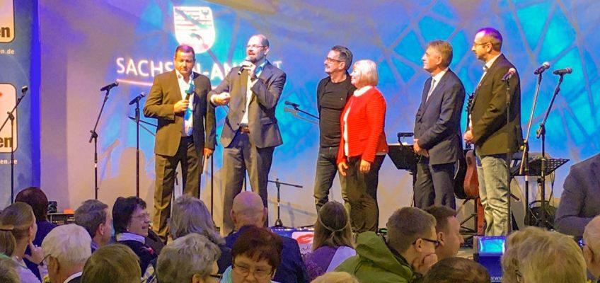 Landrat Martin Stichnoth eröffnet den Bördetag