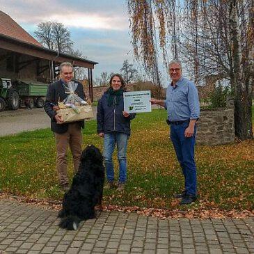 Ausgezeichnete Ausbildung im Landwirtschaftsbetrieb Albrecht von Bodenhausen